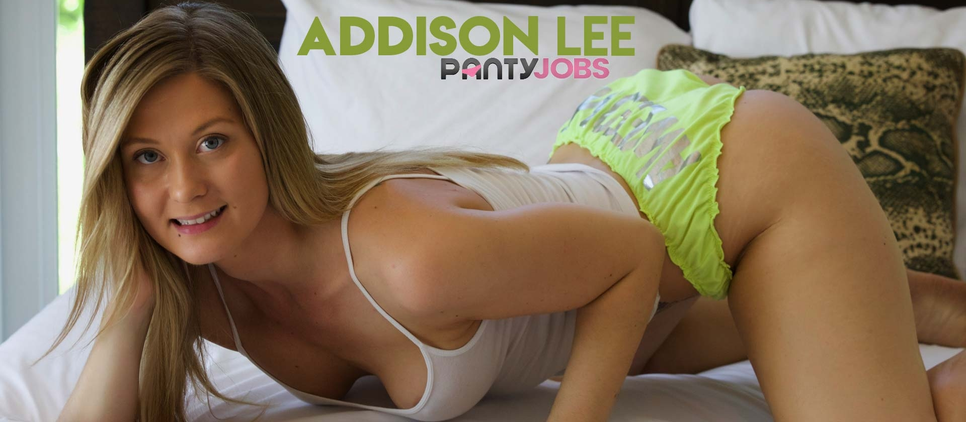 Addison Lee Gives A Pantyjob
